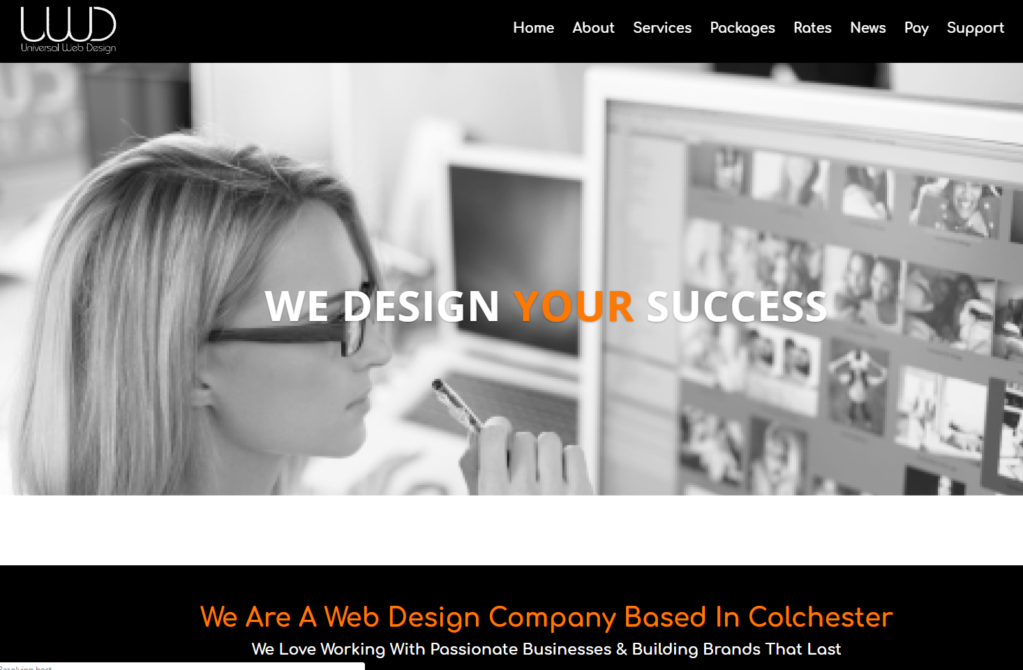 Universal Web Design